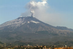 Volcanic ash plume Royalty Free Stock Photos
