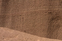 volcanic ash wall Royalty Free Stock Images