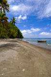Volcanic Beaches- St. Lucia Royalty Free Stock Photo