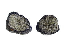 Volcanic Bomb/Olivine. Origin: Lanzarote Royalty Free Stock Photos