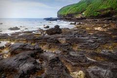 Volcanic coast , Weizhou Island Stock Images