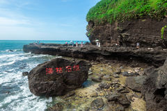 Volcanic coast , Weizhou Island stock photos