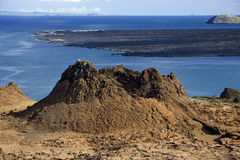 Volcanic cone - Bartolome - Galapagos Islands Royalty Free Stock Photography