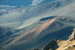 Volcanic cone ,Haleakala National Park Stock Images