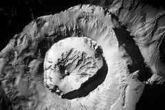 Volcanic Crater Stock Image