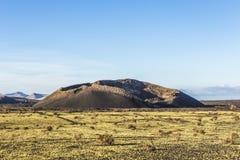 Volcanic crater of caldera blanca Stock Photography