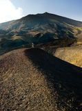 Volcanic craters Stock Photography