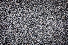 Volcanic dark background, stones, soil Royalty Free Stock Photography