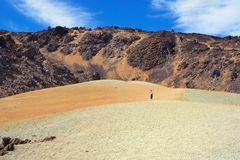 Volcanic desert Stock Photo
