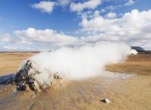 Volcanic desert landscape in iceland Stock Photo