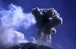 Volcanic eruption Stock Images