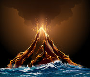 Free Volcanic Eruption Royalty Free Stock Images - 73611419