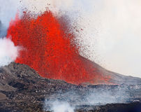 Volcanic Eruption Royalty Free Stock Photo