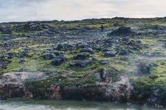 Volcanic fields of Hveravellir, Iceland Royalty Free Stock Images
