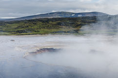 Volcanic fields of Hveravellir, Iceland Royalty Free Stock Photo
