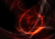 Volcanic Fire Design. Red image Stock Photography