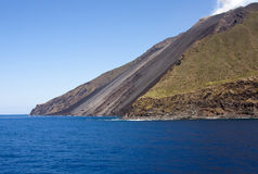 Volcanic flow Stock Image