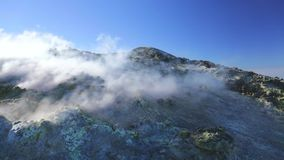 Volcanic gases stock video