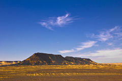 Volcanic Hills Desert Landscape Royalty Free Stock Photography