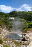 Volcanic hot spring in Furnas Azores Stock Photography