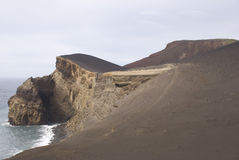 Volcanic Island. Faial Island in Azores, Portugal Royalty Free Stock Image