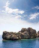 Volcanic Island Royalty Free Stock Images
