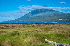 View of Pico island, Azores Stock Images