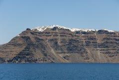Volcanic island Santorini, Greece Stock Image