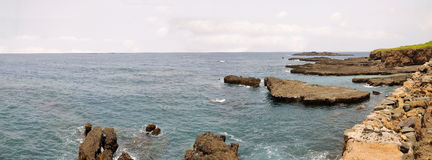 Volcanic islets Stock Photos