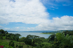 Arenal lagoon Royalty Free Stock Photography