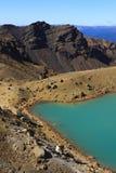 Volcanic lake Royalty Free Stock Photography