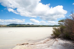 Volcanic Lake Rotorua -  New Zealand. Royalty Free Stock Photography