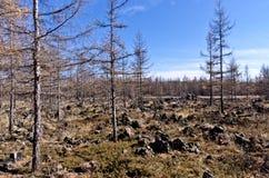 Volcanic landform Stock Photo