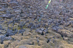 Volcanic landform Royalty Free Stock Photos