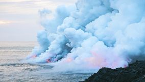 Volcanic Landform, Geological Phenomenon, Sea, Volcano Royalty Free Stock Image