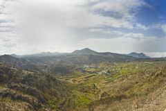 Volcanic landscape. In El Teide, Tenerife Royalty Free Stock Image