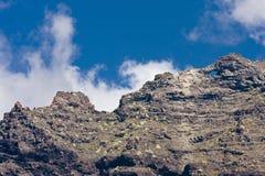Volcanic landscape. In El Teide, Tenerife Stock Images