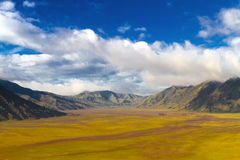 Volcanic landscape Royalty Free Stock Photo