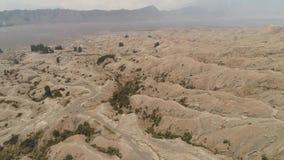 Volcanic landscape Tengger Semeru national park