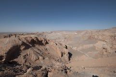 Volcanic landscape on Atacama desert, Chile Stock Images