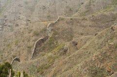 Volcanic landscape background Stock Photos