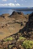 Volcanic Landscape - Bartolome - Galapagos Islands Royalty Free Stock Image