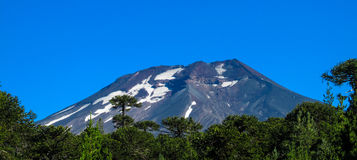 Volcanic landscape in Chile royalty free stock photography