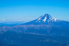 Volcanic landscape in Chile royalty free stock images
