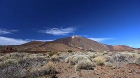 Volcanic landscape of El Teide stock footage
