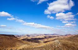 Volcanic landscape at Fuerteventura Stock Images