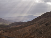 Volcanic Landscape (Fuerteventura, Canary Island) Stock Images