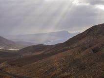 Volcanic Landscape (Fuerteventura, Canary Island) Stock Images