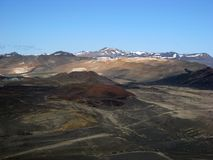 Volcanic landscape in Iceland Royalty Free Stock Photos