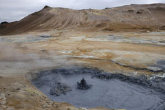 Volcanic landscape in Iceland. Stock Image